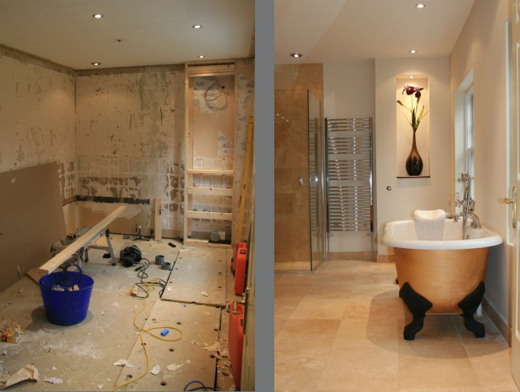 Renovation gallery for Bathroom renovation before and after